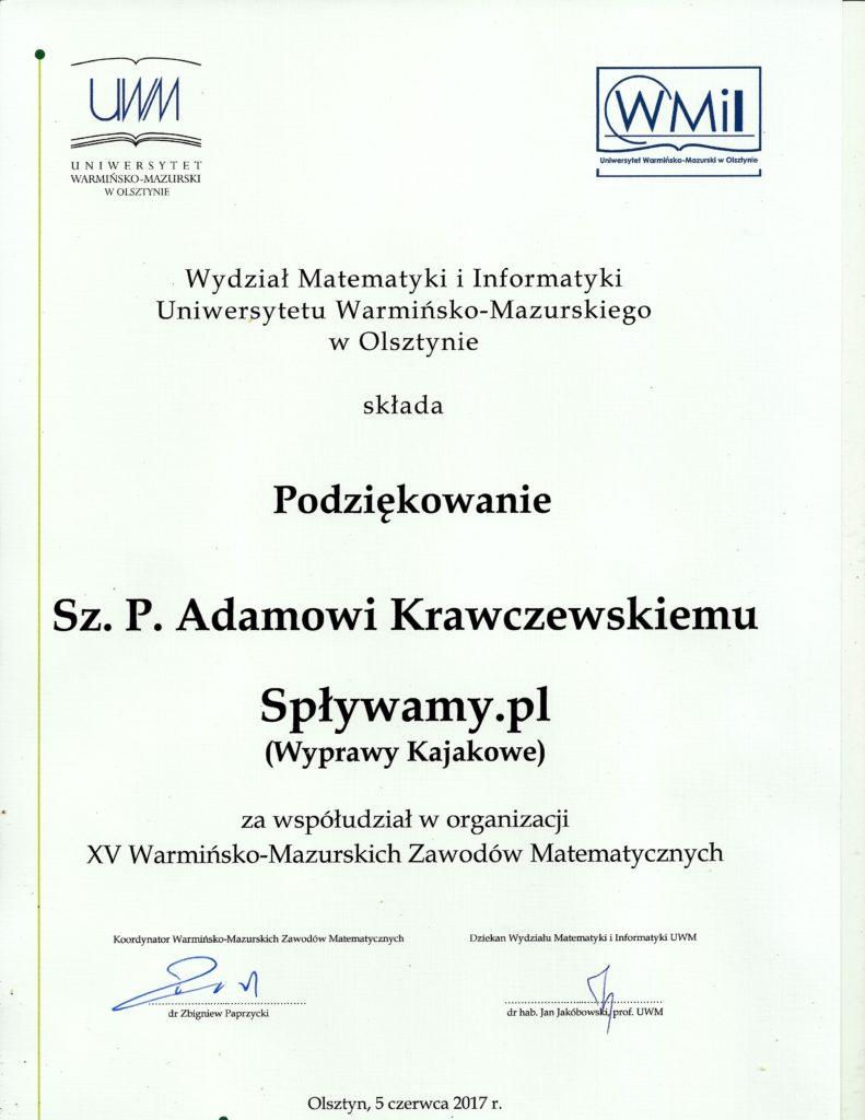 Konkurs UWM